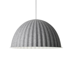 MUUTO lampa wisząca UNDER THE BELL by ISKOS-BERLIN ⌀82 szara