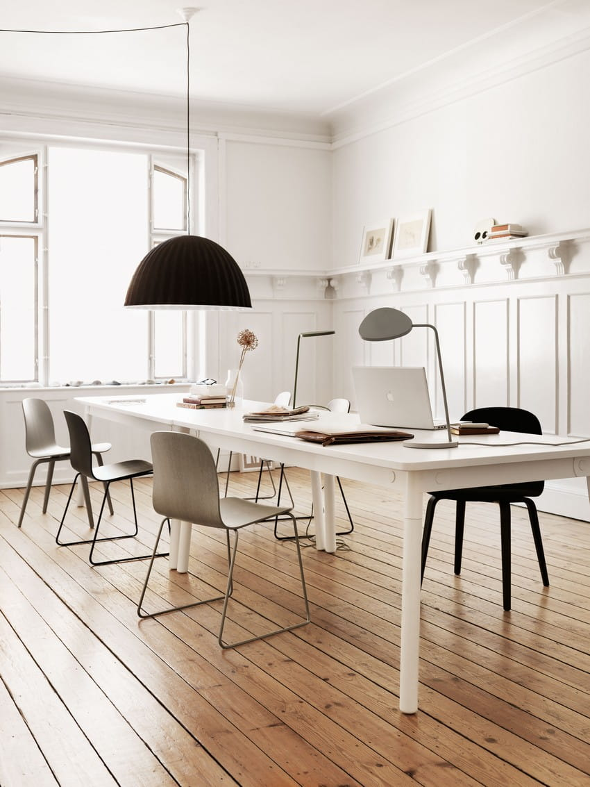 muuto lampa wisz ca szara under the bell by iskos berlin another design. Black Bedroom Furniture Sets. Home Design Ideas