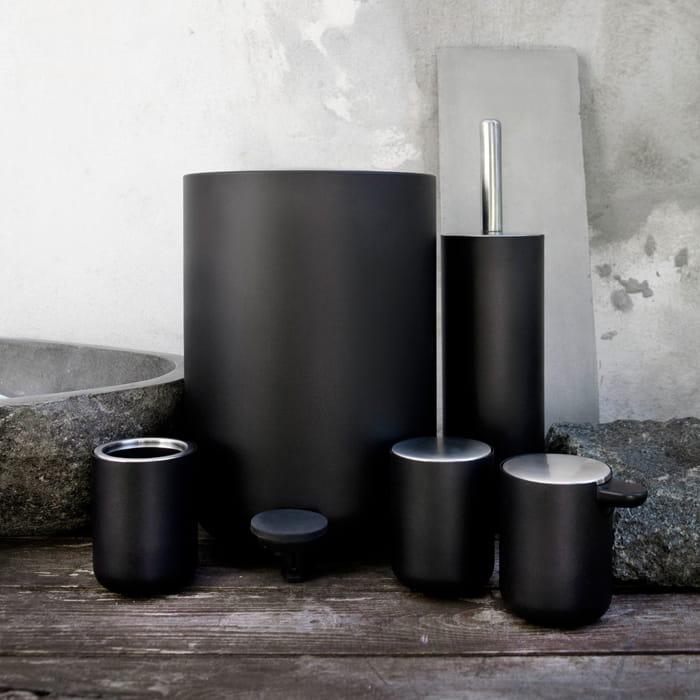 Menu kosz azienkowy norm bath czarny another design for Ustensile de wc