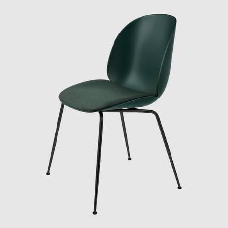 GUBI BEETLE conic base krzesło nowoczesny design