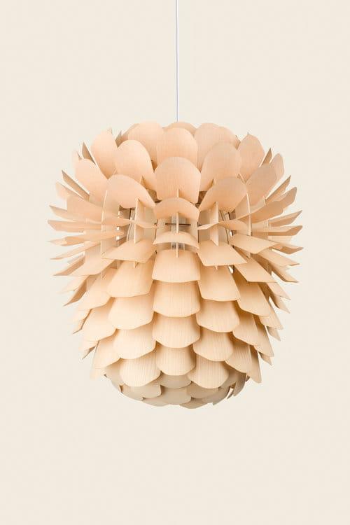 SCHNEID lampa wisząca ZAPPY jesion różne rozmiary