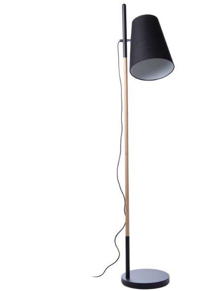 FRANDSEN lampa podłogowa HIDEOUT czarna