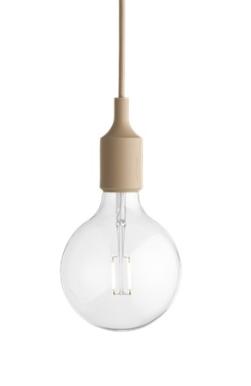MUUTO lampa wisząca E27 SOCKET LAMP nude