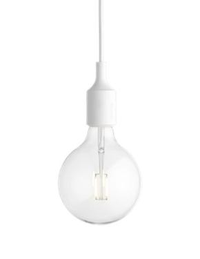 MUUTO lampa wisząca E27 SOCKET LAMP biała