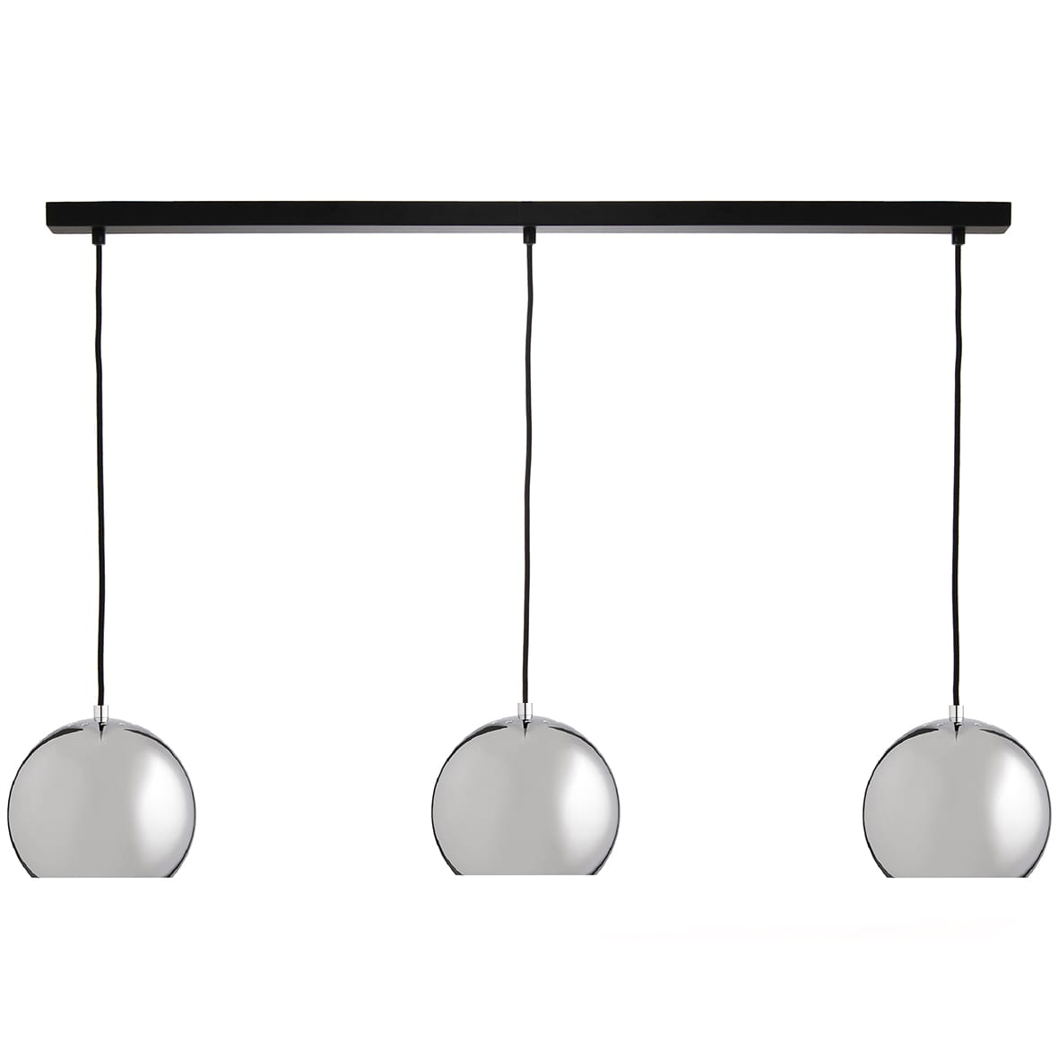 FRANDSEN lampa wisząca BALL TRACK chrom